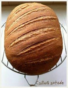 CsillaG sütöde: Teljes kiőrlésű kenyér - a kedvencem