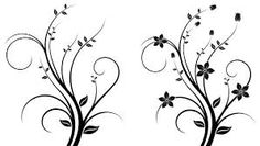 black and white pictures of flowers to print free - Google Search