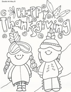 Free Thanksgiving Coloring Pages and printable activity sheets–Entertain kids with these fun and interactive free coloring pages for kids, including Crafts, Word Search, Dot-to-Dot, Mazes and more. (fall crafts for kids preschool)