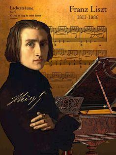 'Hommage an Franz Liszt' von Dirk h. Wendt bei artflakes.com als Poster oder Kunstdruck $18.03
