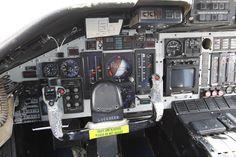 "Lockheed C-141A/B ""Starlifter"" pilot cockpit"