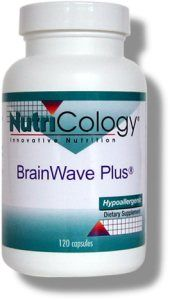 BrainWave Plus is a balanced formula of smart nutrients designed to enhance mental function. These smart  nutrients in BrainWave Plus variously support blood circulation,  antioxidant activity,  and neurotransmitter activity and production. This product,  manufactured by Allergy Research Group, supports mental alertness, healthy moods, memory and learning. http://www.brainreference.com/brainwave-plus/