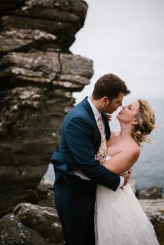 Cliffs of Moher wedding. I was very pleased to be part of outdoor wedding ceremony at Cliffs of Moher. Candice and James came along from California to have their awesome ceremony in Ireland. Cliffs Of Moher, Destination Wedding Photographer, Wedding Ceremony, Wedding Photography, Couple Photos, Wedding Dresses, Outdoor, Fashion, Couple Shots