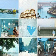 o Porto é... em tons de azul