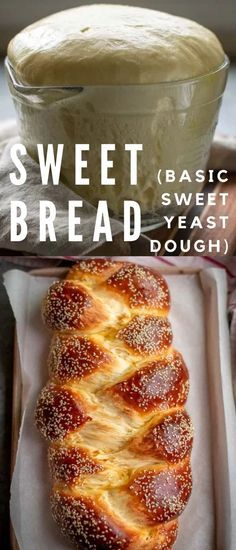 This sweet bread recipe makes a beautiful, soft, lightly sweetened and buttery bread loaf that's delicious as a toast with your morning coffee or tea. Top it with some butter and jam and it's as good Bread Bun, Easy Bread, Bread Rolls, Baking Recipes, Dessert Recipes, Recipes Dinner, Bread Machine Recipes, Mets, Bread Baking