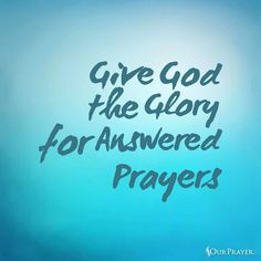 Thank You Lord For Hearing And Answering Our Prayers Prayer