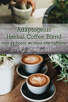 This rich and satisfying adaptogenic herbal coffee blend recipe will supply you with flavor and energy from the adaptogenic ingredients! Blender Food Processor, Food Processor Recipes, Natural Health Remedies, Herbal Remedies, Herbal Cure, Herbal Magic, Herbal Tea, Blended Coffee, Coffee Recipes