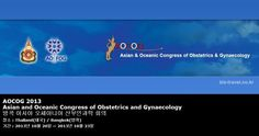 AOCOG 2013 Asian and Oceanic Congress of Obstetrics and Gynaecology 방콕 아시아 오세아니아 산부인과학 회의