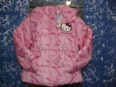 Giubbino Giubbotto HELLO KITTY pile 6 anni originale SANRIO idea regalo bambina | eBay