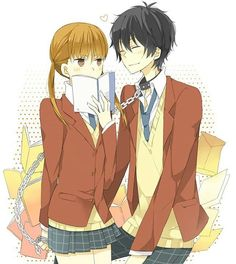 My Little Monster. Really good anime with cute, funny couple.                                                                                                                                                                                 More