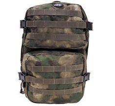 MFH US Rucksack, Assault II, HDT-camo FG / mehr Infos auf: www.Guntia-Militaria-Shop.de