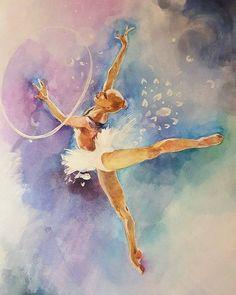 Картинки по запросу рисунки гимнастки