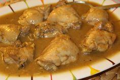Potato Recipes, Meat Recipes, Potato Food, Bellini Recipe, Sin Gluten, Chicken Wings, Hummus, Pork, Food And Drink