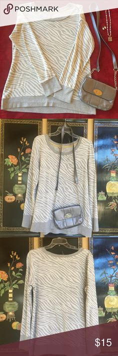 Banana Republic Soft and Cozy Pullover, lightweight and forgiving style. Comfy enough for yoga and lounging, but cute enough for a night out. Banana Republic Tops
