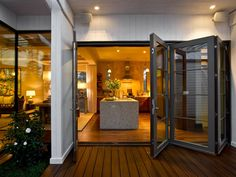 Add contemporary, elegant entryways to your outdoor living space with sliding patio doors. Explore images and ideas from HGTV.com.