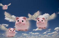 Consórcio de imóveis - Porquinho voando