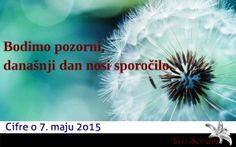 Dnevno numerološko vodilo avtorice LiLi SoRuM, oblikovano na podlagi zapisa današnjega datuma.