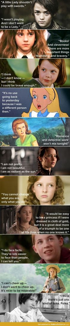 Smart And Strong Girls Are My Heroes!!! ((Or SHEroes lol))
