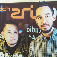 LP Linkin Park Joe Hahn & Mike Shinoda