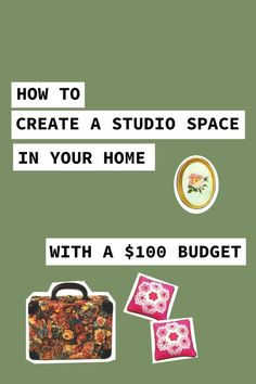 How To Create A Studio Space On A Budget: I turned my spare room into a creative studio with a super small budget. Take a look at my process and let your imagination run wild with what you could do with your space! You don't need a whole room, either. You