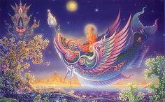 The psychedelic Buddhist universe of Chalermchai Kositpipat | ilbonito blog 2007
