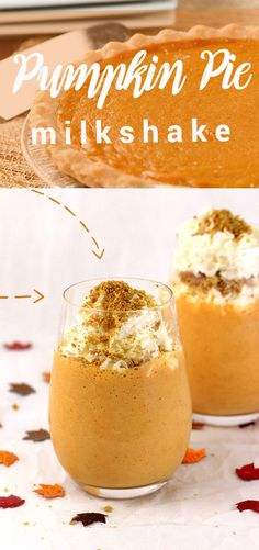 YES. Only 5 Ingredients. Come to mama! Pumpkin Pie Milkshake heaven!!!!