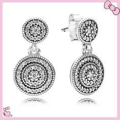 abd1b1478 Nice Buy PANDORA Silver Cubic Zirconia Radiant Elegance Earrings for just  added.