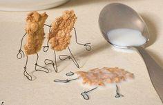 Murder or suicide? Just food art