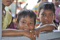 Photo Enfants du Cambodge - portrait - GEO communauté photo