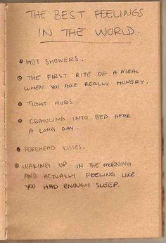 The best feelings in the world, totally true…