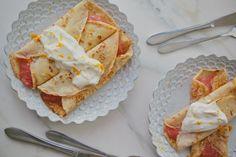 Buckwheat Pancakes with Rhubarb & Orange Compote   London Bakes