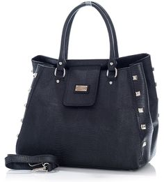 Designerska torebka kufer czarny skóra MAZZINI - Roberta Lux Blog, Kate Spade, Tote Bag, Fashion, Moda, Fashion Styles, Blogging, Totes, Fashion Illustrations