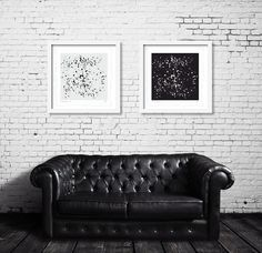 A-POSITIVE + B-NEGATIVE - | Limited Edition Signed Giclee Prints | by @KeithReillyART |  https://www.keithreillyart.com/collections/prints