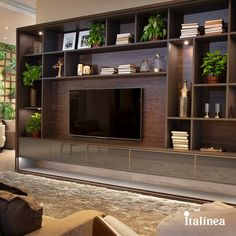 Basement Remodeling Ceiling – Welcome The uniteTv Living Room Wall Units, Living Room Built Ins, Living Room Tv Unit Designs, Ikea Living Room, Living Rooms, Tv Unit Furniture, Dream Furniture, Coaster Furniture, Pallet Furniture