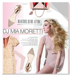 """Jet Set Style With DJ Mia Moretti & The RealReal: Contest Entry"" by stylect ❤ liked on Polyvore featuring Rochas, Yves Saint Laurent and Fendi"