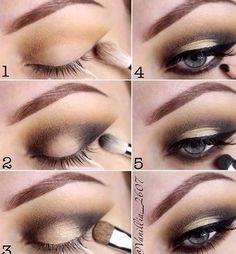 Новости Grey Eye Makeup, Halo Eye Makeup, Grey Eyeshadow, Eye Makeup Steps, Basic Makeup, Love Makeup, Simple Makeup, Makeup Tips, Beauty Makeup