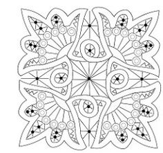 3 patterns for Romanian point lace