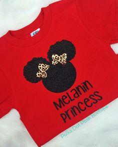 Natural Hair T-shirt| Little Girls Natural Hair| Melanin Princess