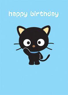 Happy Birthday Chococat!