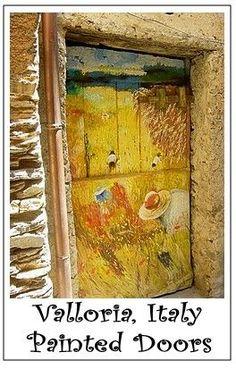 valloria painted doors