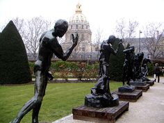 The Rodin Museum in Paris Musée Rodin, Auguste Rodin, Rodin Museum Paris, Monuments, Albert Kahn, Paris Destination, Jardin Des Tuileries, Romantic Paris, Cultural Capital