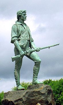 Minutemen were members of teams from Massachusetts that were well-prepared militia companies of select men from the American colonial partisan militia during the American Revolutionary War. They provided a highly mobile, rapidly deployed force that allowed the colonies to respond immediately to war threats, hence the name
