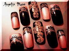 Gothic Nail Designs   Готический дизайн ногтей в Японии (16 ...