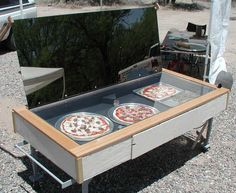http://how-to-build-solar-panels.us/diy-power-system-review.html DIY Power System review. DIY Solar pizza oven!  love it!