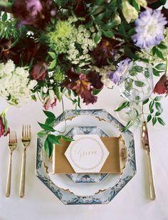 San Fransisco based fine art wedding stylist, A & B Creative   Wedding Sparrow