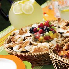 Grilled Cinnamon Chips With Fruit Salsa recipe