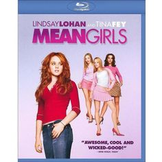 Mean Girls (Blu-ray) ($10) ❤ liked on Polyvore featuring movies, other, accessories, dvds, random and fillers