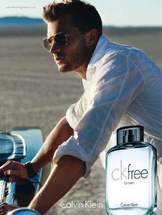 Jamie Dornan for Calvin Klein cK Free