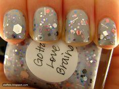 Gotta Love Glitter, in any color.....