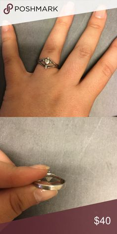 James Avery Heart Cross Ring Good condition. Authentic James Avery. James Avery Jewelry Rings